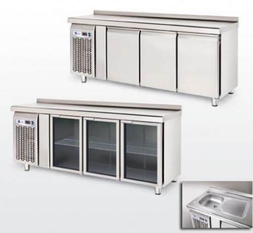 Bajomostrador frigorífico Mod. BM