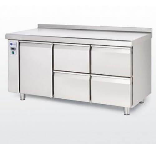 Bajomostrador frigorífico (con preinstalación) · Gastronorm Mod. BMGC R