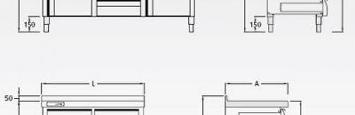 Mueble cafetero Mod. C