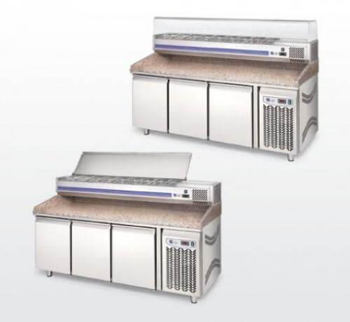 Mueble para preparación de pizzas Mod. MPV